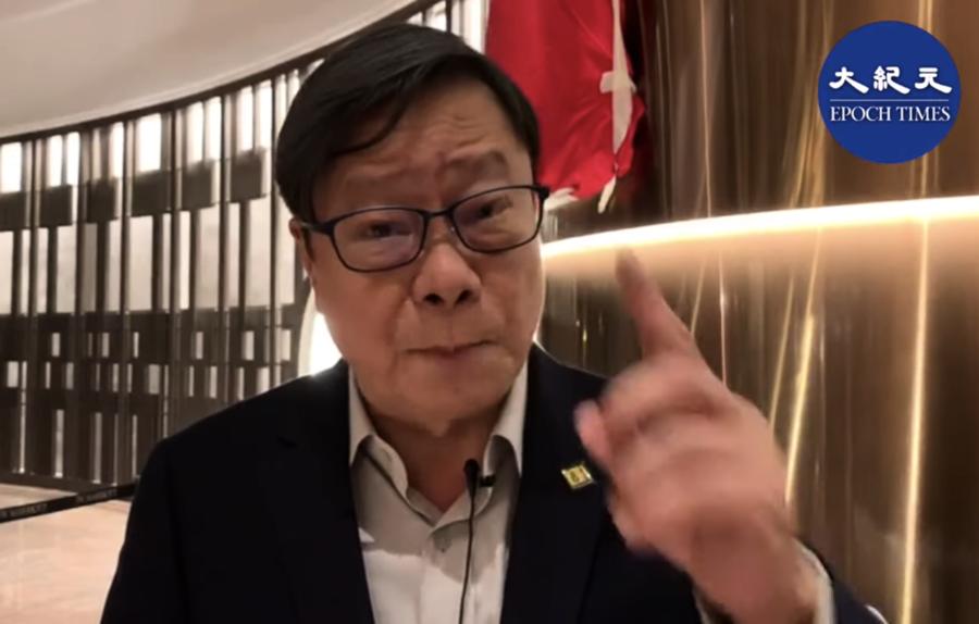 名嘴黃毓民力挺香港年輕人 籲台灣與中共做切割