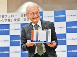 化學獎日本人得主: 當初鋰電池賣不出去很痛苦