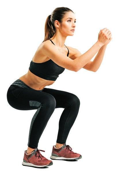 每天5分鐘就能瘦!深蹲加2個運動 減脂又增肌