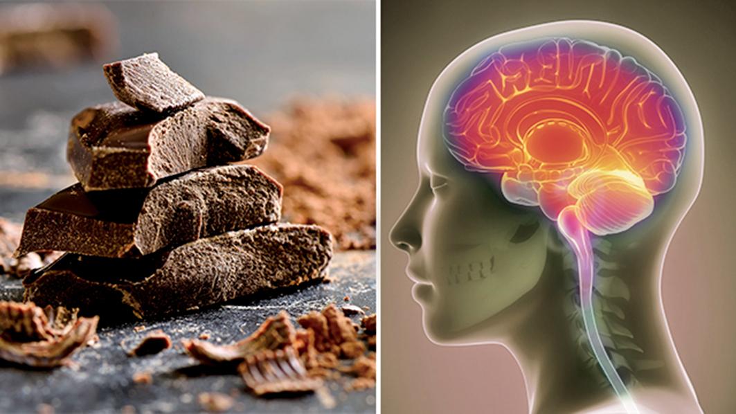 朱古力的原料可可中含有黃烷醇,它直接影響集中注意力和吸收信息的能力,可以幫助人們更好地記憶和理解信息。(Shutterstock)