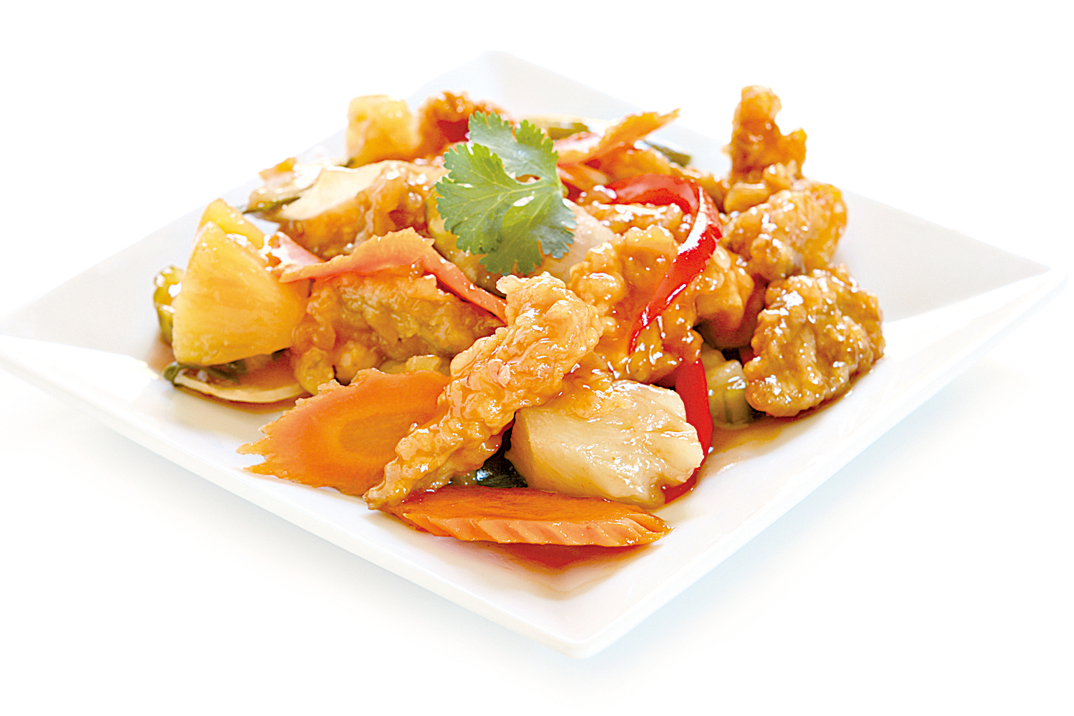 在美加很常見的咕嚕肉,其實是一道廣東順德菜。