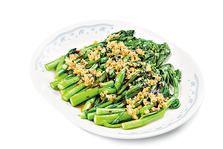 菜心適合快手炒至入口爽脆。