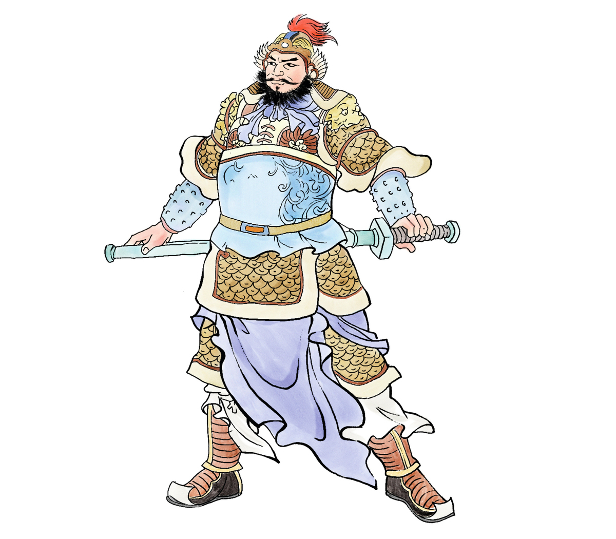 ▲ 秦朝名將蒙恬,出身於將軍世家,為秦國統一天下立下汗馬功勞。