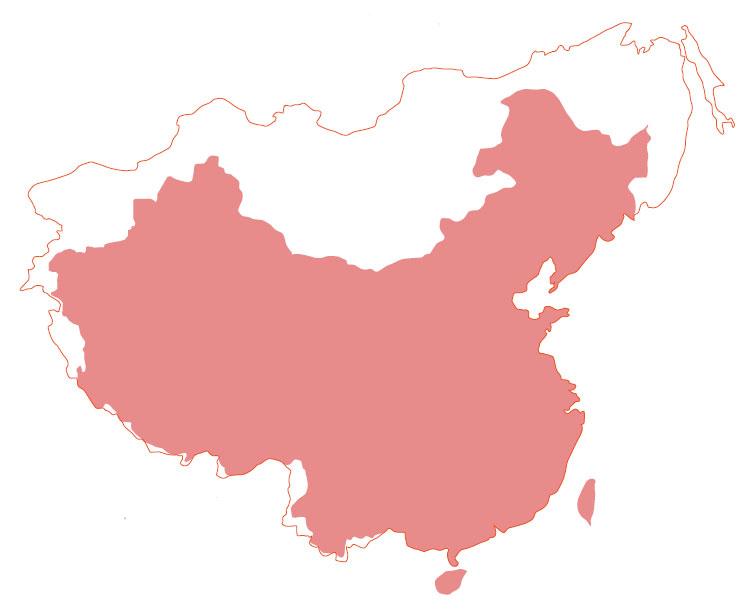 中共丟掉的國土。(網絡圖片)
