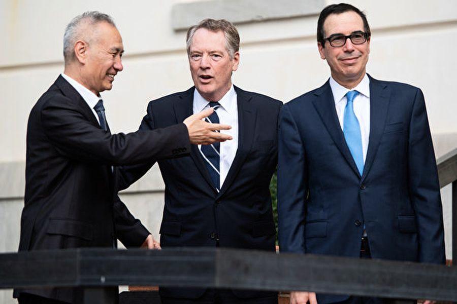 貿易戰暫停火 姆欽簡介談判情況