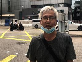 銀髮老人:共產黨傀儡亂香港 「天滅中共」共產黨必垮