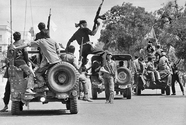 1975年4月17日,紅色高棉游擊隊進入金邊,強行清空了該城的200萬居民。(網絡圖片)