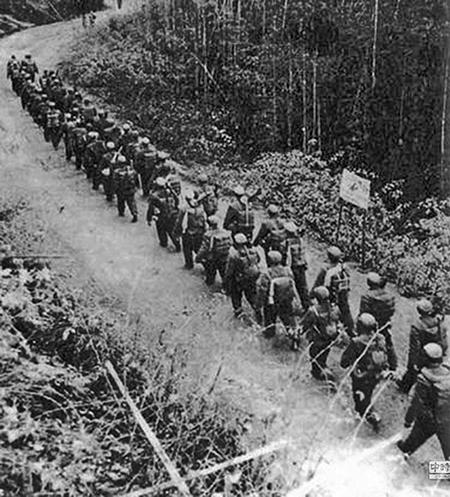 1962年中印戰爭中的中國解放軍。(網絡圖片)