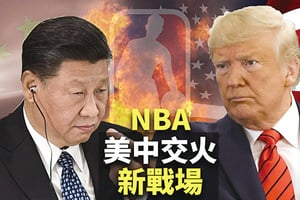 中共狂攻NBA 激化中美對抗(上)