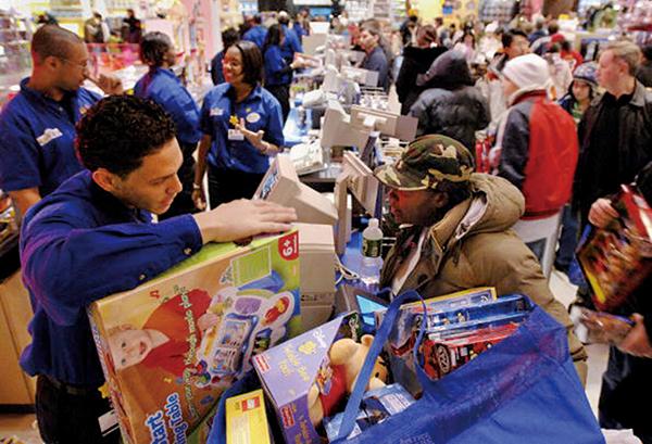 密歇根大學公佈的美國10月消費者信心指數上升到96,為三個月內最高。(Getty Images)