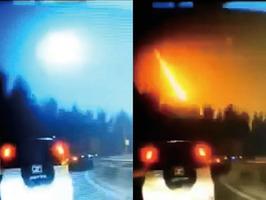 吉林松原有隕石墜落  伴隨巨大火光