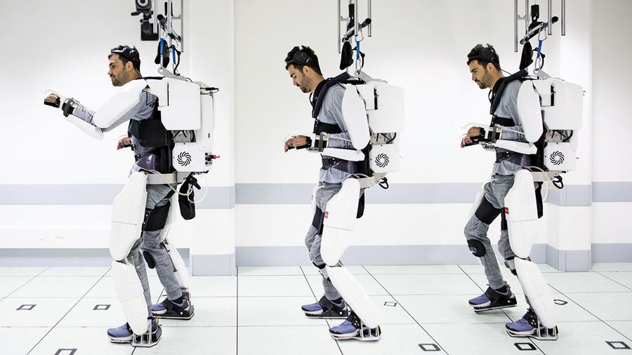 新裝置讓癱瘓人用意念控制重新行走
