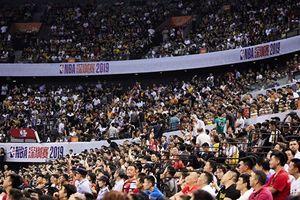 NBA深圳賽人山人海「飯圈女孩」被警約談