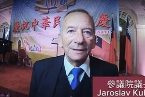 捷克議長出席雙十節 台外交部:展現反極權