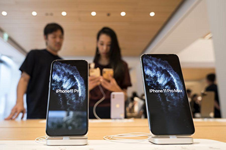 蘋果終於在《消費者報告》最新智能手機評級中擊敗三星和谷歌手機,今年新款iPhone 11 Pro Max排名第一,iPhone 11 Pro排名第二。 (Photo by Tomohiro Ohsumi/Getty Images)