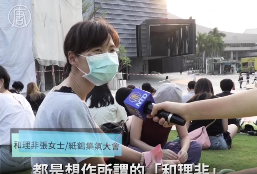 香港市民:為了香港變好 要默默做下去