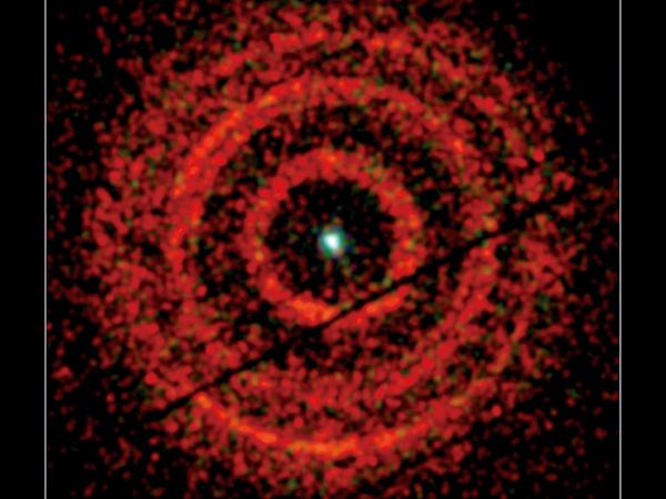 噴流極速搖擺揭示黑洞周圍的扭曲時空