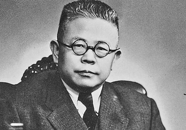 追隨蔣介石到台灣,擔任台灣大學校長的傅斯年。(網絡圖片)