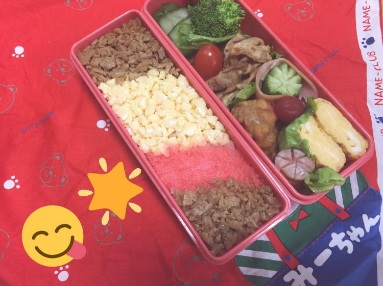 在2016年12月6日小綠高中生涯最後一天,爸爸津一除了精心為她準備了一個好吃的飯盒之外,還放上了3年前很爛的處女作飯盒照片和一張字條。字條上爸爸寫著,「謝謝小綠每天都認真地把飯盒吃完,現在就要上大學了,在高中的最後一天,盡力為妳做了最後一個飯盒。」(Twitter @pikatiro3)