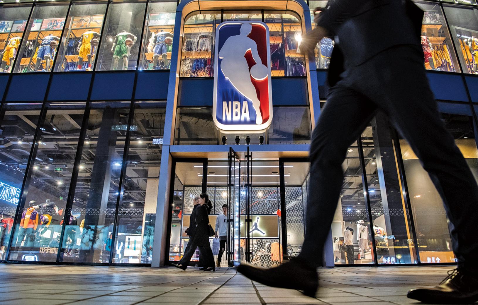 中共官媒不斷談論NBA本身的損失,卻絕口不提中國大陸,尤其是背後相關民企的損失。(Getty Images)