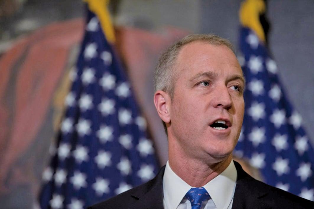 美紐約民主黨眾議員馬洛尼(Sean Patrick Maloney)說,本月初他和一群跨黨派國會議員申請北京簽證遭拒,只因代表團打算訪問台灣。(Getty Images)
