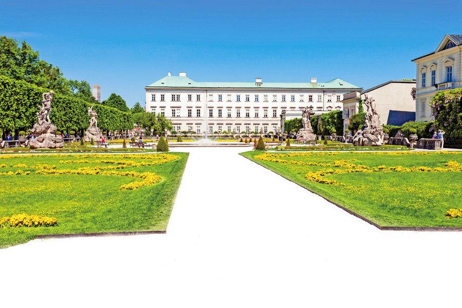 米拉貝爾宮殿花園 《仙樂飄飄處處聞》電影拍攝地