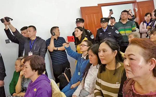 貴陽仁愛歸正教會信徒聚會被警衝擊。(對華援助協會臉書)