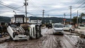 海貝思重創日本 如海嘯過境 已釀58死211傷