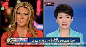 中美女主播辯論 劉欣承認中共盜竊知識產權