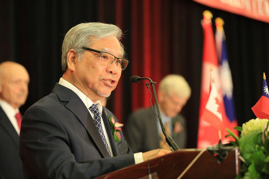 加拿大參議員吳藍海(Senator Ngo)近日發表聲明,敦促加拿大支援香港民主抗爭者。(任僑生/大紀元)