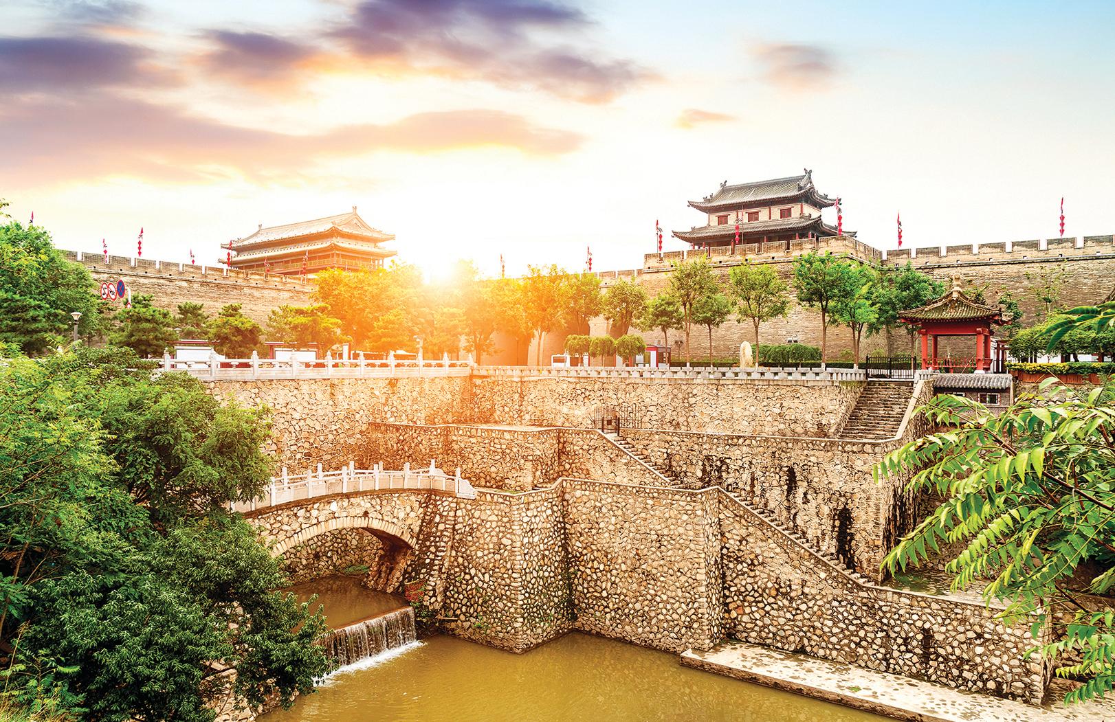 西安古城牆。(Shutterstock)