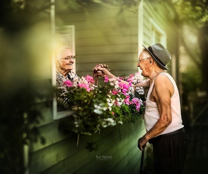 英國攝影師掌鏡 留下老夫妻最美時刻