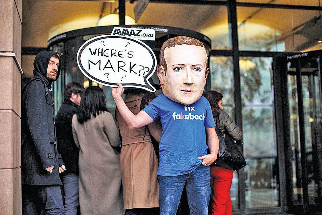 作為社交媒體,Facebook因傳播假消息,包括假新聞而飽受輿論指責,可能是因為如此,Facebook近期決定把付費新聞欄目的主導權交給了真人,而非AI。(Getty Images)