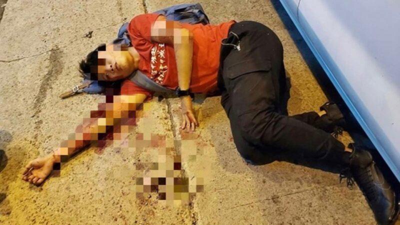 香港民主陣線召集人岑子杰16日就遭到暴徒襲擊重傷入院,引發外界強烈關注和譴責。(圖擷取自范國威臉書)