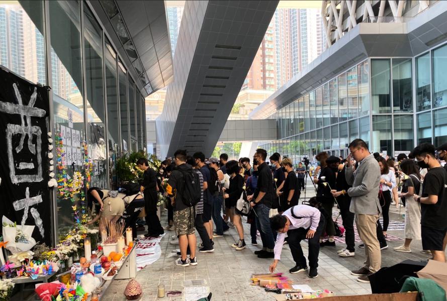 多間大專院校學生祭典陳彥霖並要求釋放更多CCTV還原真相