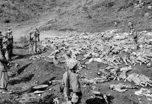 朝鮮戰場真相:中共以人海炮灰戰術造成中國人死傷慘重。(網絡圖片)