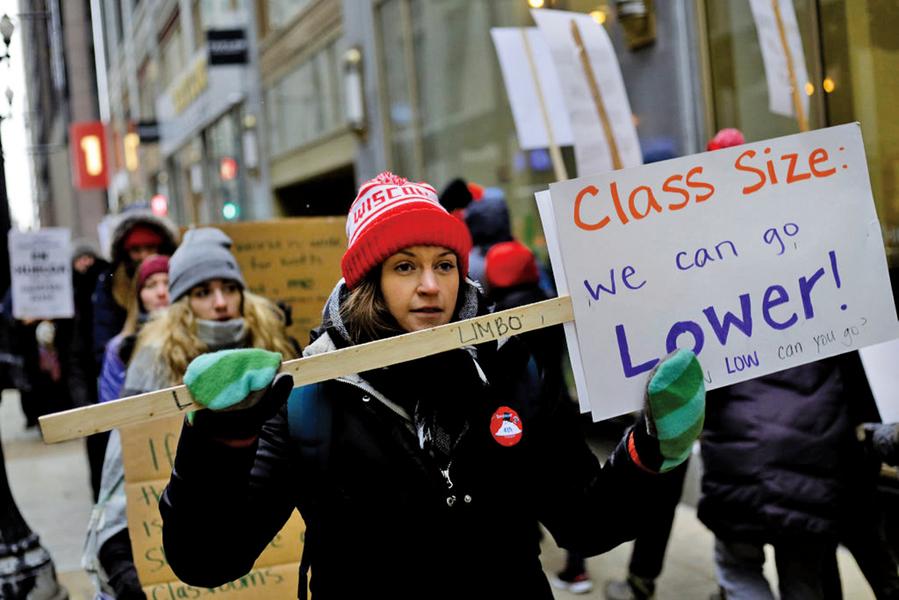 芝加哥教師罷工 三十萬學童受影響