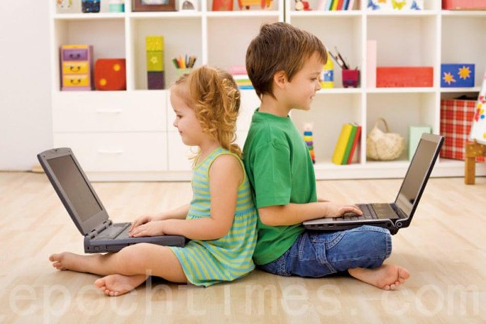 世界衛生組織(WHO)建議:「不建議1歲以下兒童久坐看屏幕(例如看電視或視頻,玩電腦遊戲);對於2歲的孩子,久坐的時間不應超過1小時。兒童花在屏幕前的時間越少越好。」(Fotolia)