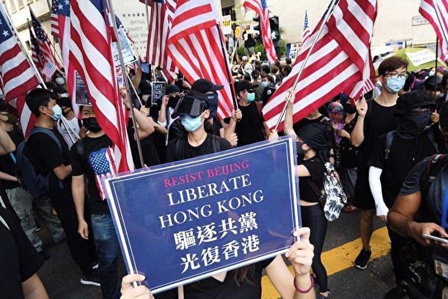 【新聞看點】香港人權法北京反彈 美再敲打
