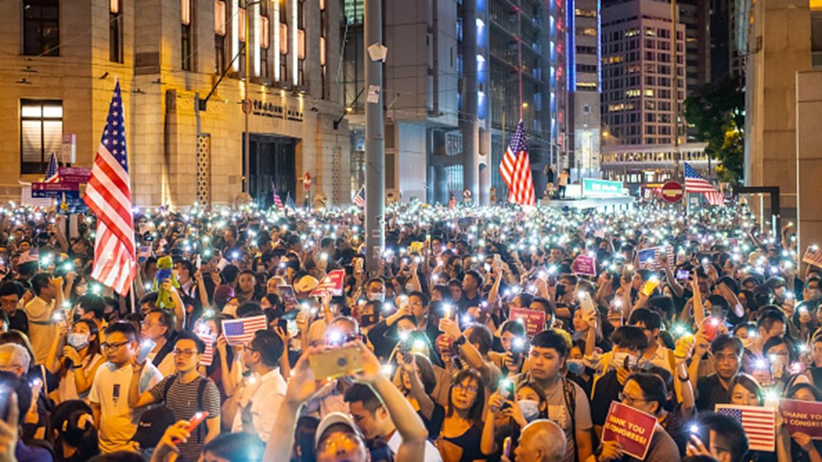 歐洲議會最大黨團「人民黨」日前也通過一項關於「香港抗議」的決議,支持香港抗爭者。(Billy H.C. Kwok/Getty Images)