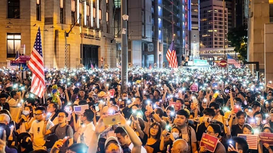 歐洲議會最大黨跟進美國 通過支持「香港抗議」決議