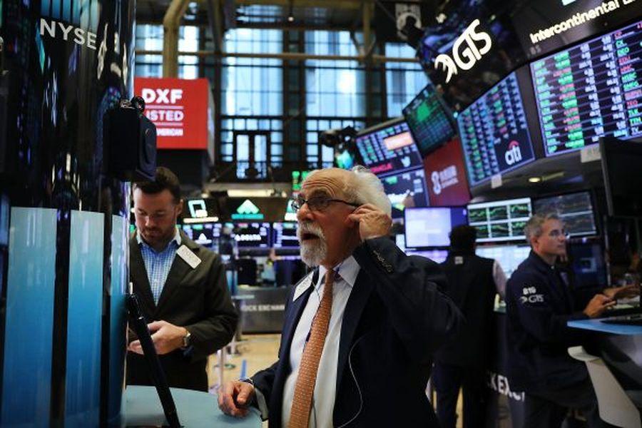 圖為紐約證券交易所。(Getty Images)