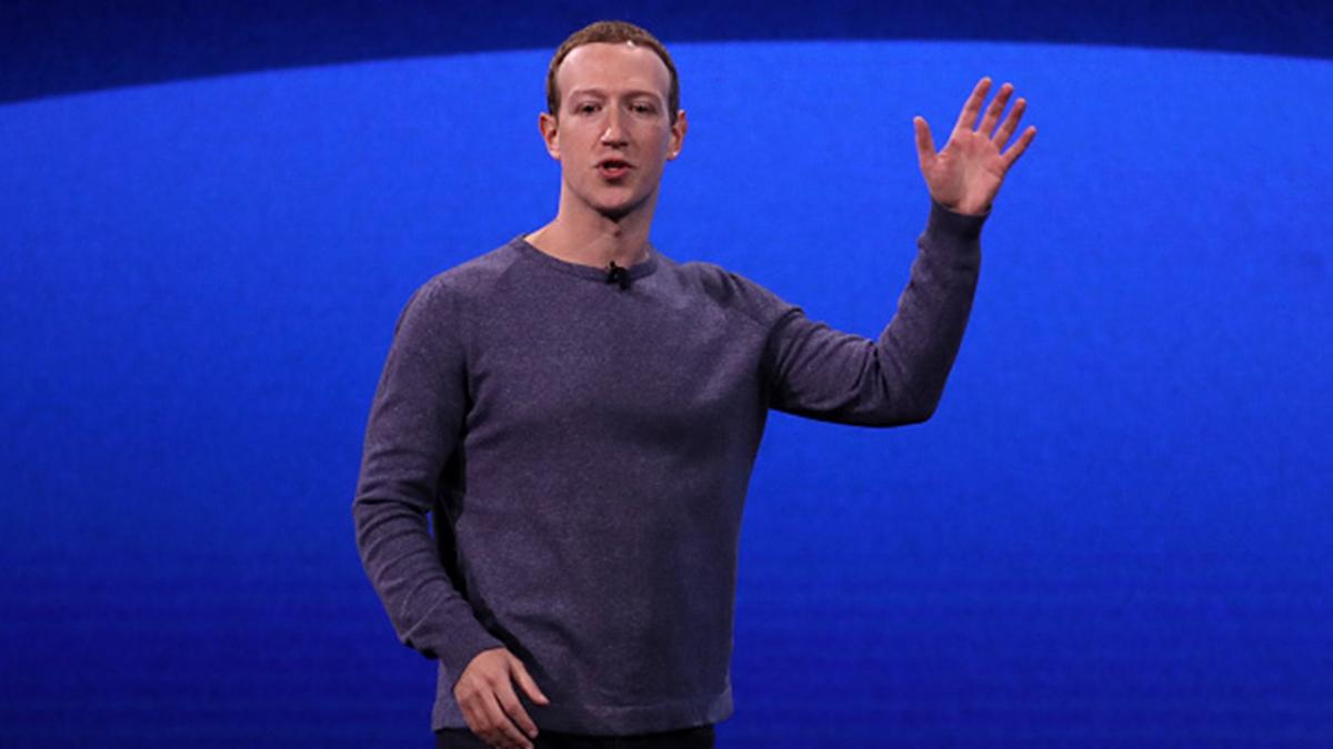 臉書行政總裁札克柏格日前痛批中共審查制度,並表示臉書捍衛言論自由。(Justin Sullivan/Getty Images)