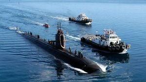 中共戰略核潛艇意外曝光 疑纏繞越南漁網