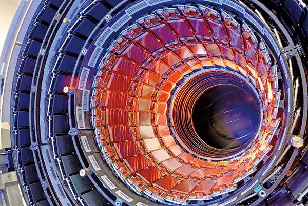 歐洲核子研究中心的大型強子對撞機。(CERN)