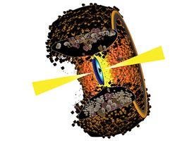 研究發現圍繞黑洞的圓環狀塵埃結構