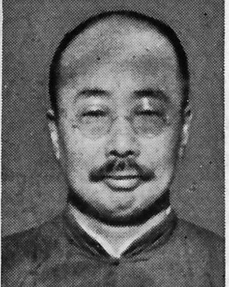 魯迅之弟周作人。(網絡圖片)