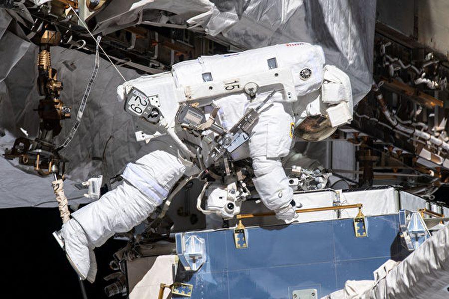 2019年10月18日,2位來自美國太空總署(NASA)的太空人做了史上首次全女性太空行走。(NASA)
