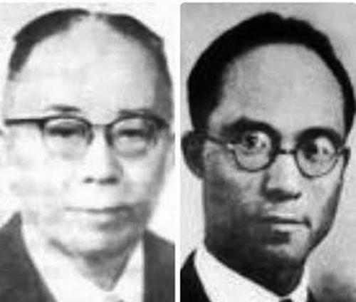董時進(左)董時光兄弟。(網絡圖片)