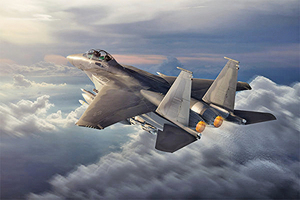 為美軍打造 波音公司公佈F-15EX戰機概念圖